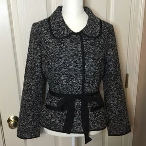 Host Pick Kate Spade Black & White Boucle Jacket-4